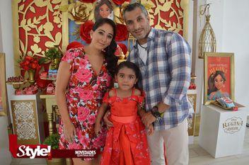 Regina Reyes Partida festeja su cumpleaños
