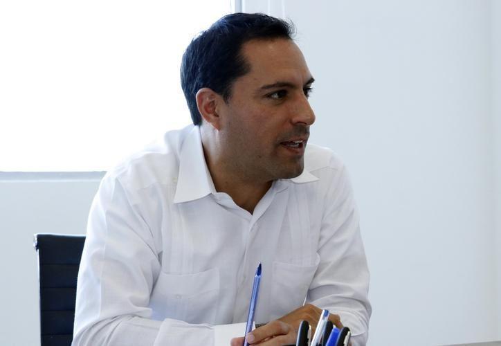 """""""Nosotros apoyamos el plan de la Guardia Nacional, declaró el gobernador Mauricio Vila (Foto de archivo Pepe Acosta)"""