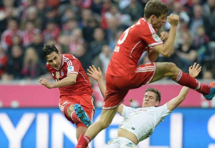 Bayern Munich pierde una vez más en el cierre de la Bundesliga. (Fotografía: ukfootballers)