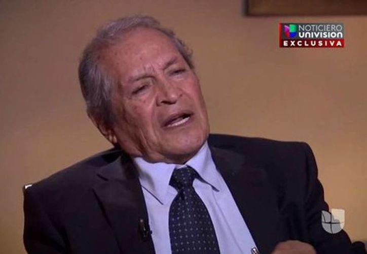 """El abogado Juan Pablo Badillo dijo que a El Chapo """"se le advertía una gran preocupación por su extradicción"""". (Tomada del video de Univisión)"""