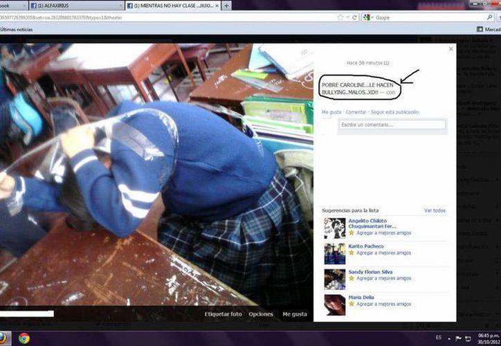 Las agresiones escolares se recrudecen en las redes sociales. (Redacción/SIPSE)