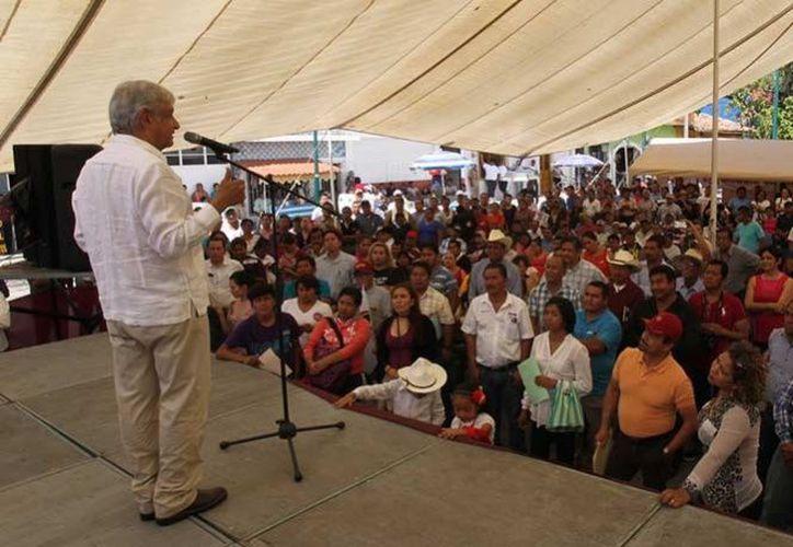 López Obrador señala las afirmaciones de Osorio Chong como amenazas. (Excélsior)