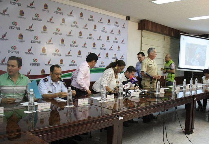 Ayer fue levantada la sesión de alerta en Chetumal. (Harold Alcocer/SIPSE)