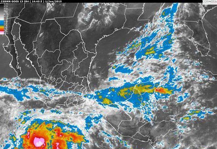 Blanca es la segunda tormenta en lo que va de la temporada de huracanes y se espera que se convierta en huracán. (smn.conagua.gob.mx)