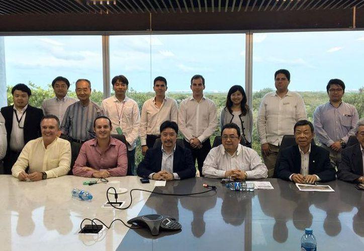 Un grupo de empresarios del Japan External Trade Organization llegaron a este destino turístico. (Israel Leal/SIPSE)