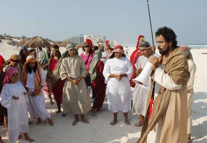 Ricardo Ruvalcaba coordinador del Viacrucis será Jesucristo por tercera ocasión. (Jesús Tijerina/SIPSE)