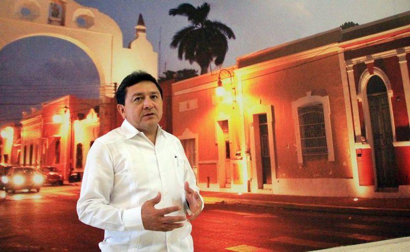 Duarte Ramírez asegura que  vigilará que los recursos del pago del impuesto predial sean devueltos con obras de calidad. (SIPSE)