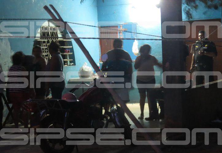 El lamentable hecho ocurrió en un hogar de Ticul. (Francisco Valle/SIPSE)