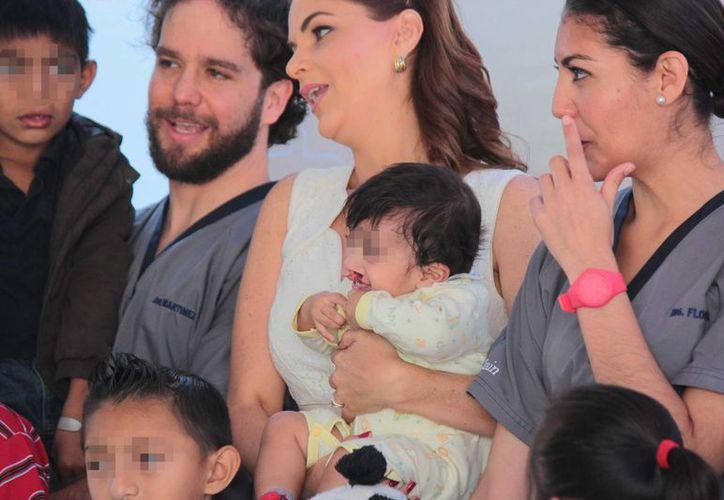 La fundación Smile Train realizará alrededor de 40 cirugías de paladar y labio hendido en Cozumel. (Gustavo Villegas/SIPSE)