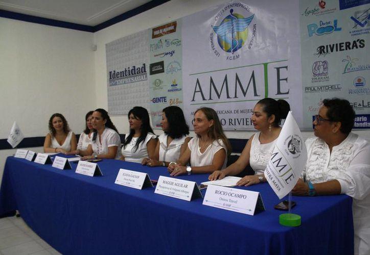 La nueva directiva de la Ammje Riviera Maya entrará en funciones a partir del 2 de junio próximo. (Octavio Martínez/SIPSE)