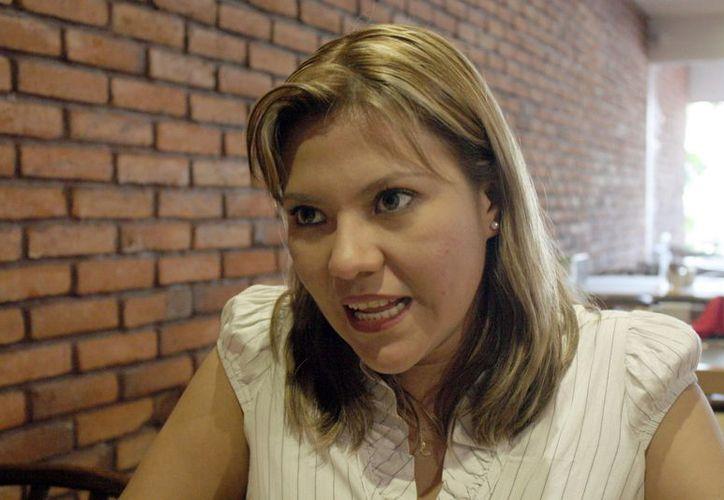 Sandybel Robaldino Aguilar dijo que la persona receptora de violencia puede pasar por varios eventos en que esté expuesta su vida. (Tomás Álvarez/SIPSE)