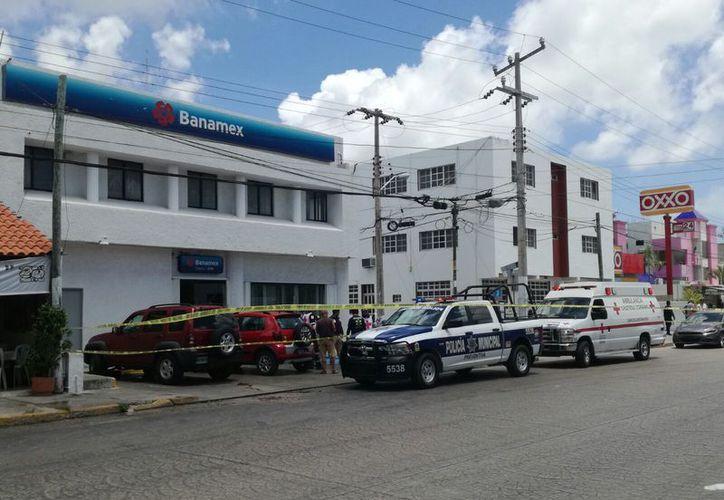 En la ciudad se han registrado varios robos a bancos. (Eric Galindo/SIPSE)