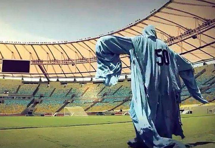 'El fantasma del 50' se pasea por el estadio del Maracaná, donde en  1950 Uruguay venció a Brasil en la final de la Copa del Mundo. (publimetro.pe)