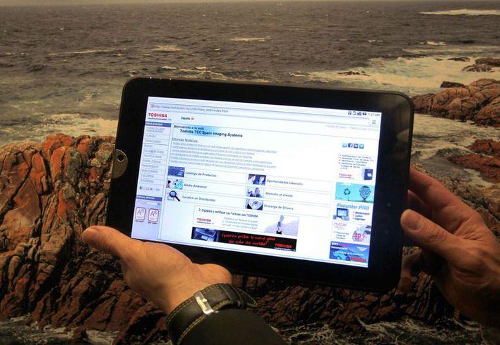 Vista una tableta basada en Android. (Archivo/EFE)