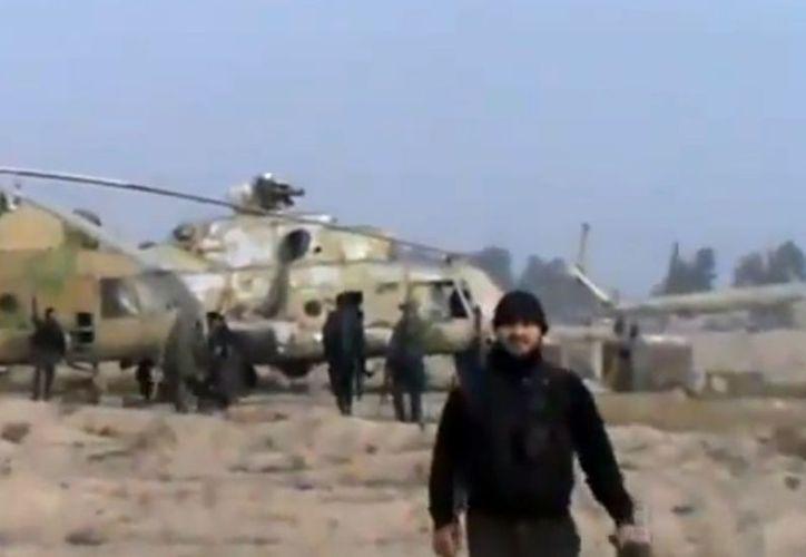 La base tomada por los insurgentes cuenta con varios radares. (Agencias)