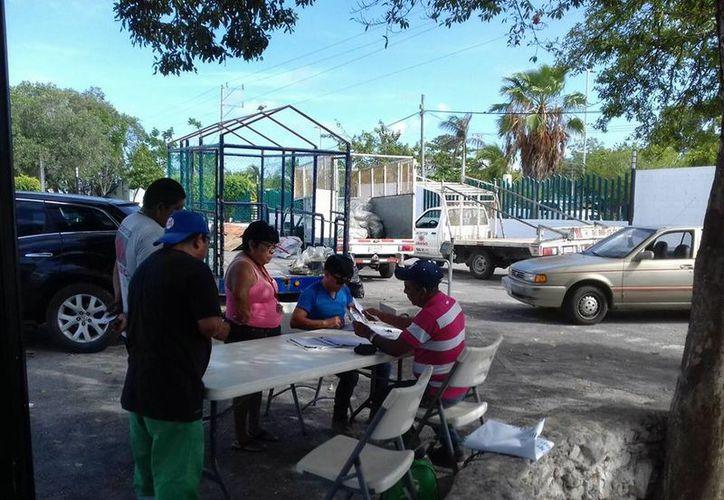En la pasada jornada de acopio se dieron cita tres hospitales privados. (Octavio Martínez/ SIPSE)