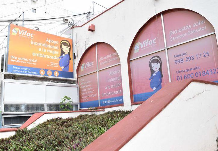 Uno de los proyectos más ambiciosos de Vifac Cancún es contar con un albergue para las mujeres. (Ivette Y Coz/ SIPSE)