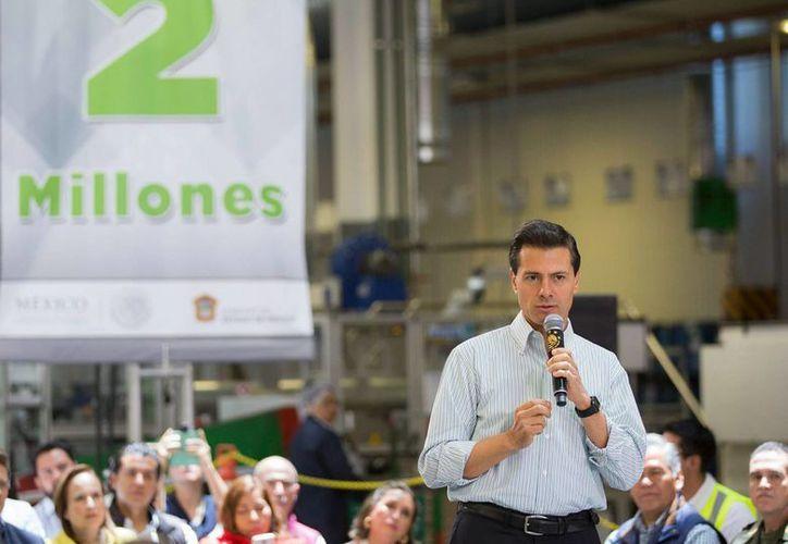 El presidente Peña Nieto dijo que la Reforma Educativo fue la que tuvo mayor consenso y apoyo. (Archivo/Notimex)