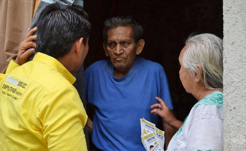 Rodríguez Luna propone bajar a 65 años la edad para recibir el beneficio. (Cortesía/SIPSE)