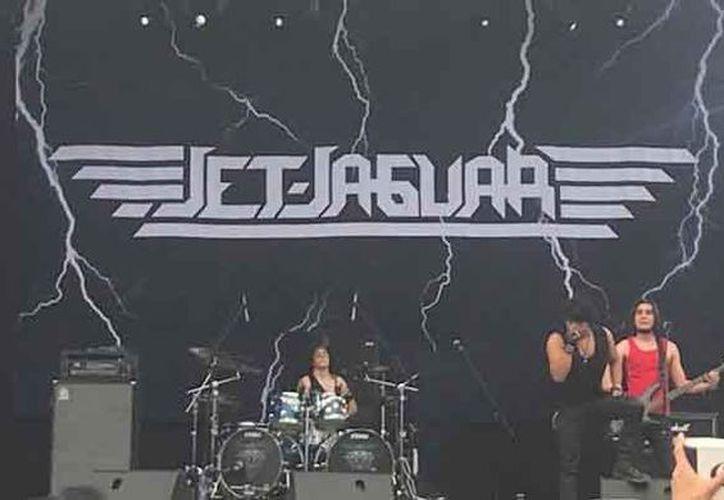 La banda de rock Jet Jaguar tuvo una excelente presentación en la Ciudad de México. (Redacción/SIPSE)