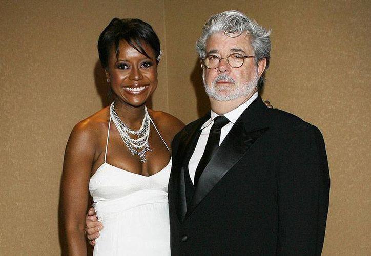 George Lucas y Mellinda Hobson se casaron en junio pasado. (Archivo/parade.com)