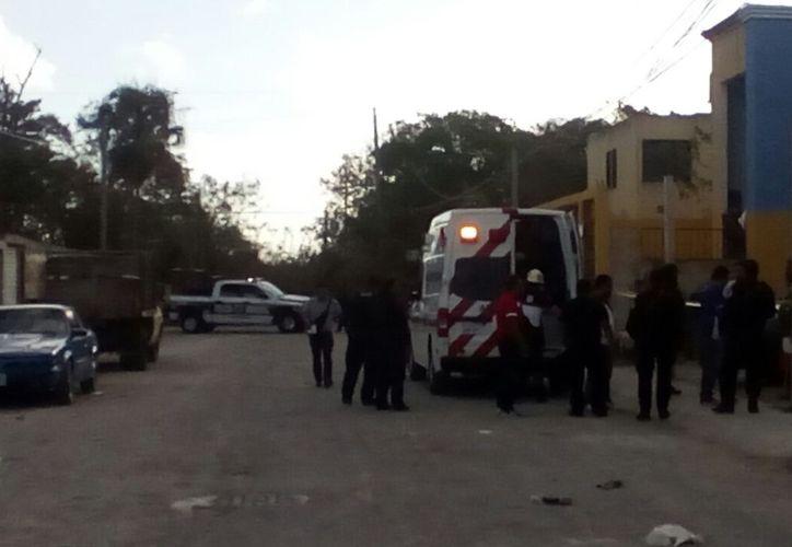 El delegado recibió disparos enfrente de su domicilio. (Eric Galindo/SIPSE)