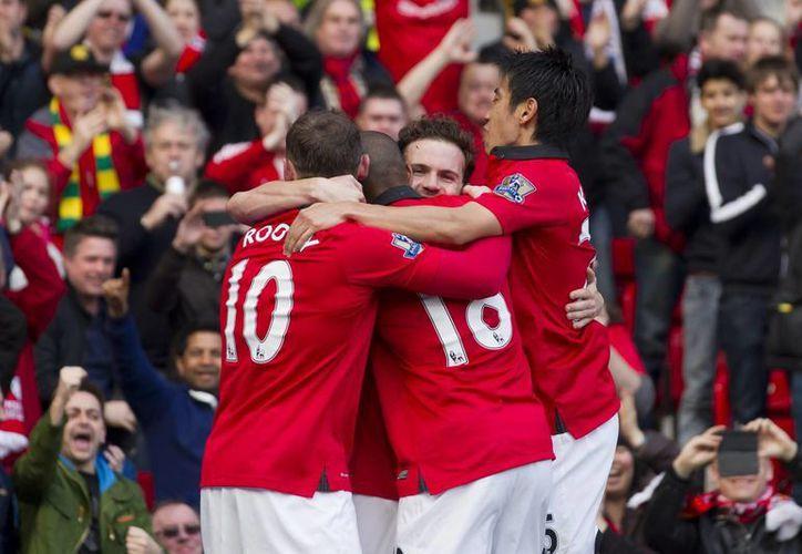 Machester United no la tuvo fácil ante Aston Villa. (Agencias)