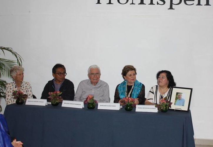 Imagen del evento donde se recordó el legado de Michel Antochiw Kolpa. (Milenio Novedades)