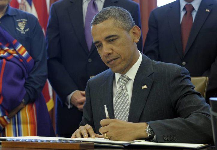 Obama firmó hoy la proclama. (Agencias)