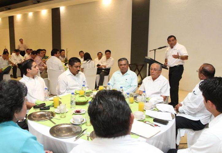 El encuentro con la iglesia evangélica de Yucatán. (SIPSE)