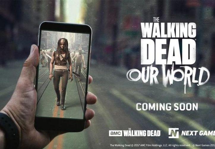 MC y Next Games lanzaron para todos los fanáticos de The Walking Dead un videojuego de realidad virtual. (Next Games).