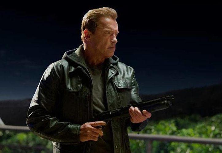 Arnold Schwarzenegger, quien saltó a la fama mundial con Terminator, en 1984, ahora regresa para actuar en 'Terminator Genisys'. (EFE)