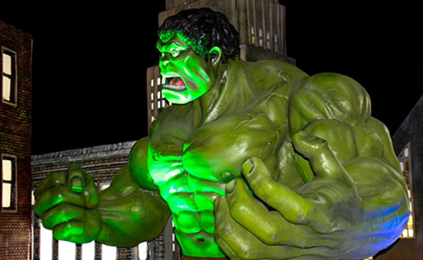 Podrás fotografiarte con personajes como Hulk. (Foto: redes sociales)
