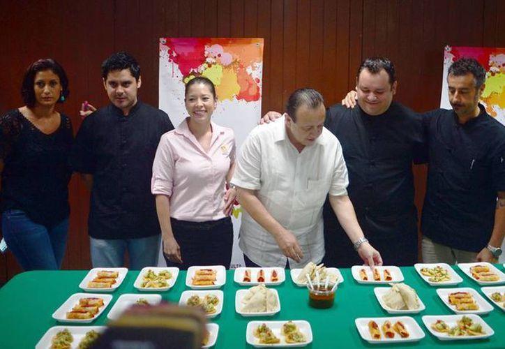 Con la muestra, chefs quieren demostrar que Mérida, además de la cocina regional, tiene un gran potencial gastronómico gourmet. (Milenio Novedades)