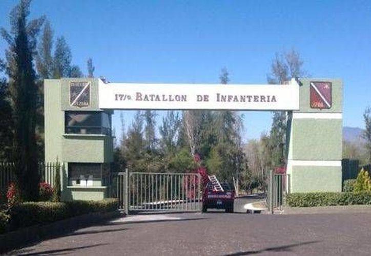 La explosión se registró al interior del cuartel militar en Zamora, Michoacán. (Milenio)