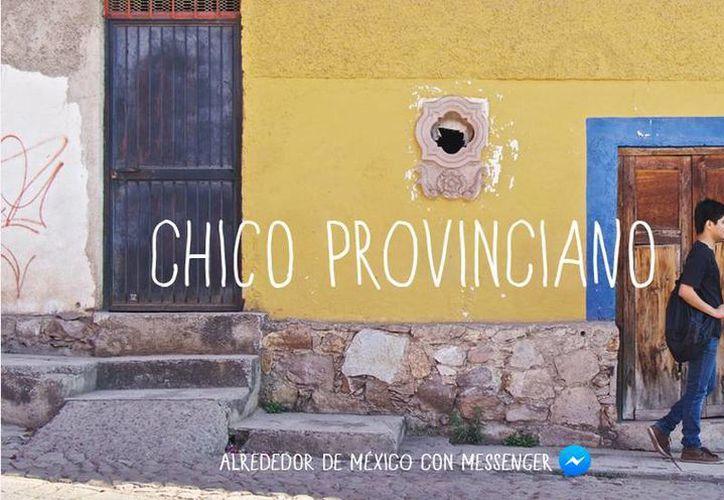 Cris Núñez recibe recomendaciones de los usuarios de Facebook en su smartphone. (Facebook México)
