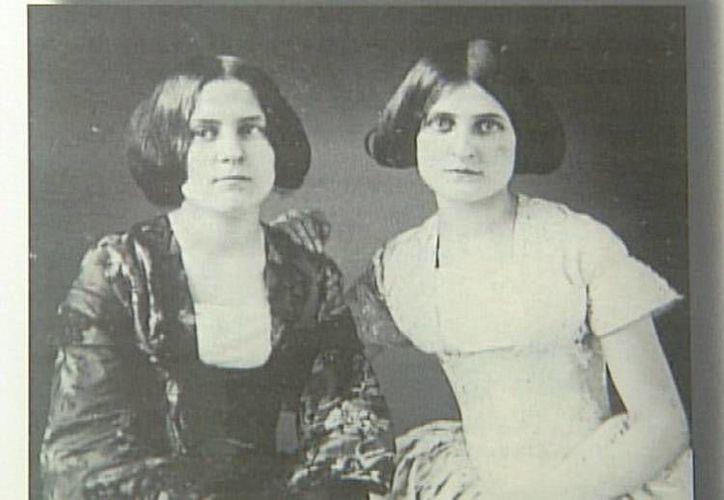 Las famosas espiritistas de la familia Fox. (Jorge Moreno/SIPSE)
