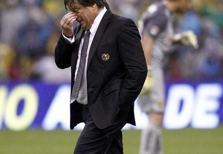 Por momentos 'Piojo' Herrera sentía que no iba a conseguir el campeonato. (Notimex)