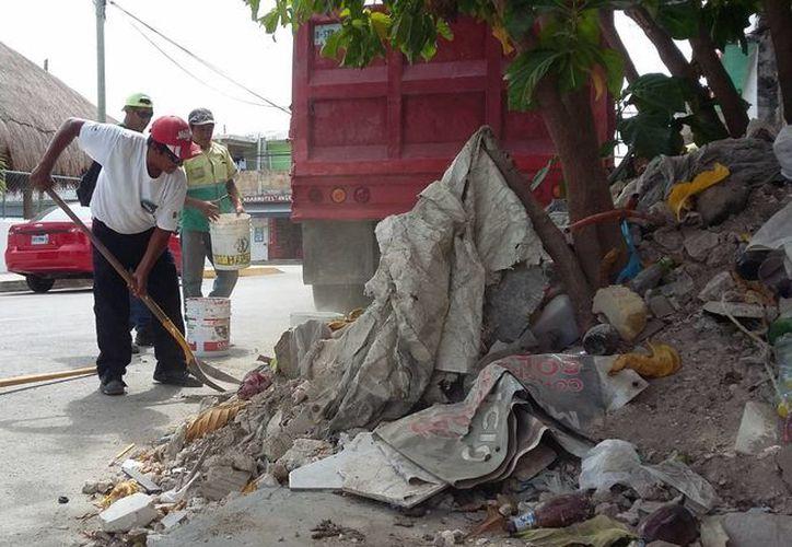 El Ayuntamiento ubicó 15 zonas usadas como basureros clandestinos. (Daniel Pacheco/SIPSE)