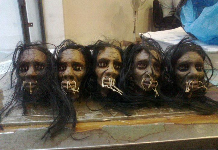 Los jíbaros del Amazonas son cazadores de cabezas, pero no acuden a los cementerios por temor a que los muertos se los lleven. (Jorge Moreno/SIPSE)