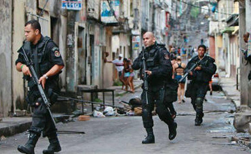 Casi cien policías murieron en lo que va de año en Río de Janeiro. (Contexto/Internet).