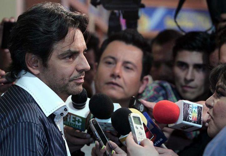 Eugenio Derbez asegura que con la Nascar hará algo muy especial. El comediante producirá un filme para esa asociación. (Archivo/Notimex)