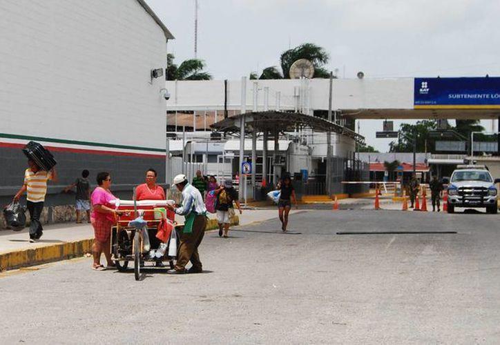 Niegan reapertura de puente fronterizo entre México y Belice. (Benjamín Pat/SIPSE)