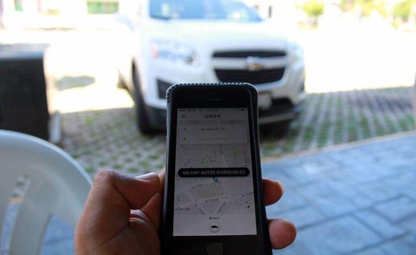 En Cancún 180 mil personas han abierto la aplicación de Uber en una semana. (Luis Soto/SIPSE)