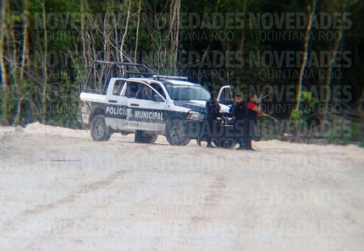 Los cuerpos fueron encontrados en un camino de terracería por el libramiento a la autopista Cancún-Mérida, a unos tres kilómetros de gas auto. (SIPSE)