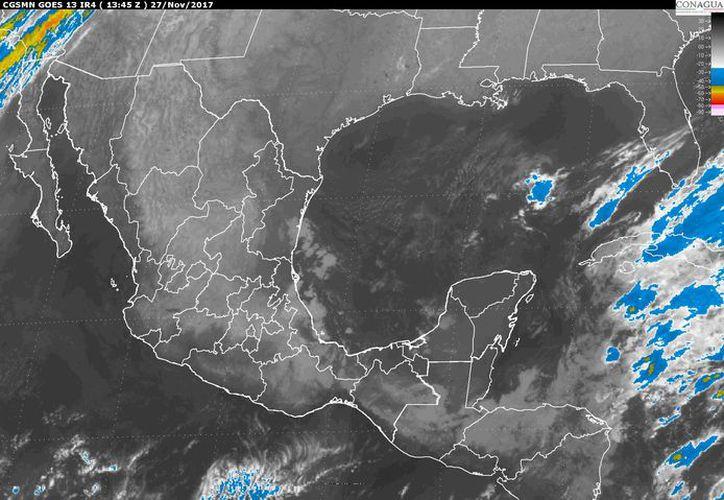 En Cancún se prevé un cielo parcialmente cubierto. (Conagua)