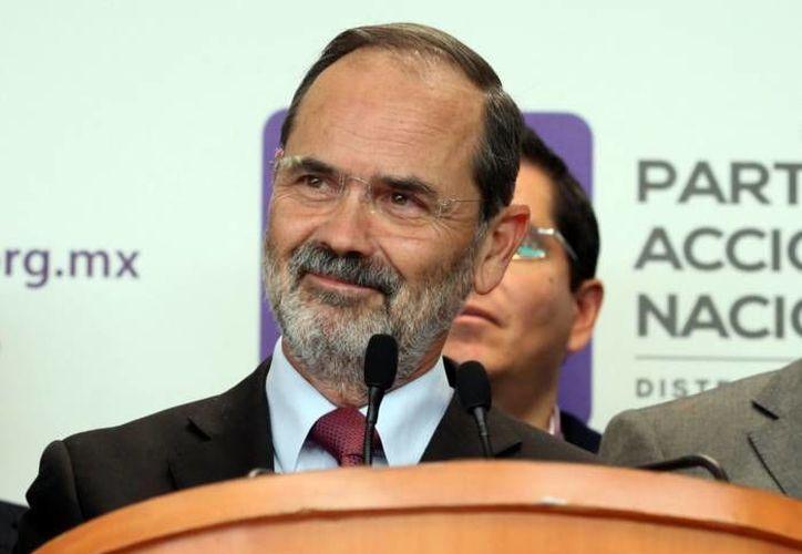 El mandato de Gustavo Madero al frente del PAN a nivel nacional llega a su fin, pero todavía no se ha hecho la elección para reemplazarlo. (Notimex/Foto de archivo)
