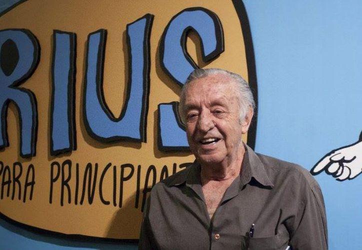Rius nació en Zamora, Michoacán el 20 de junio de 1934. (Contexto)