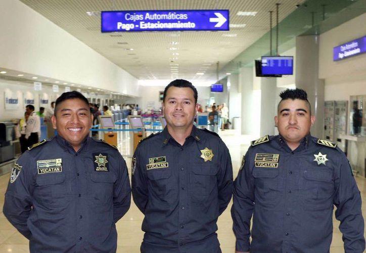Participarán en el curso el Cmdte. Edrick Miguel García Guerrero y los primeros oficiales Rafael Antonio Castillo Aragón y José Rogelio Antonio Cauich. (Milenio Novedades)