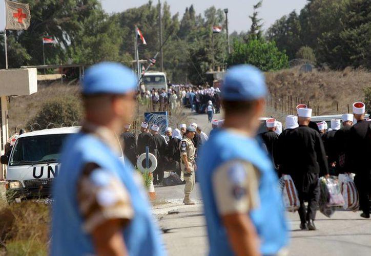 La ONU indicó que fueron detenidos por miembros de un grupo rebelde. (Archivo/EFE)